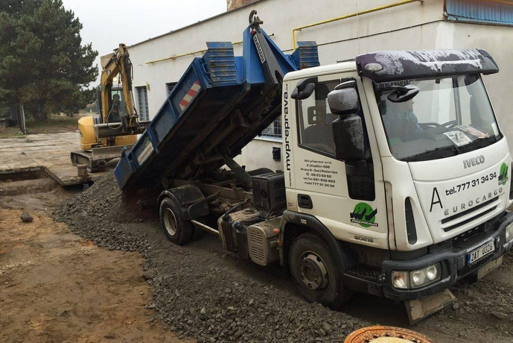 Euro Cargo 9T | MV Přeprava – nákladní přeprava, demoliční práce, zemní práce, zpracování odpadu