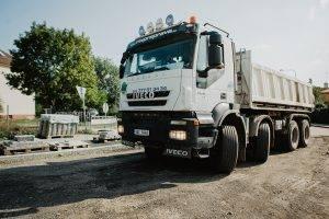 Iveco 450 E5 | MV Přeprava – nákladní přeprava, demoliční práce, zemní práce, zpracování odpadu
