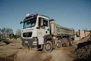 MAN | MV Přeprava – nákladní přeprava, demoliční práce, zemní práce, zpracování odpadu
