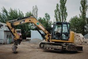 Pásové rypadlo CAT 308 E | MV Přeprava – nákladní přeprava, demoliční práce, zemní práce, zpracování odpadu
